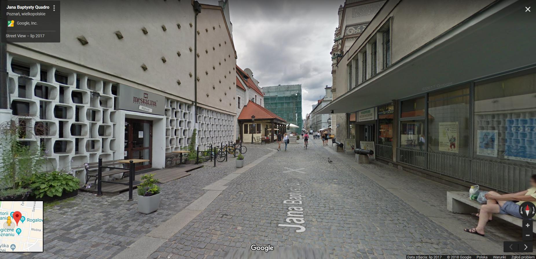 Galeria Poznan Na Nowych Zdjeciach Google Street View Czy