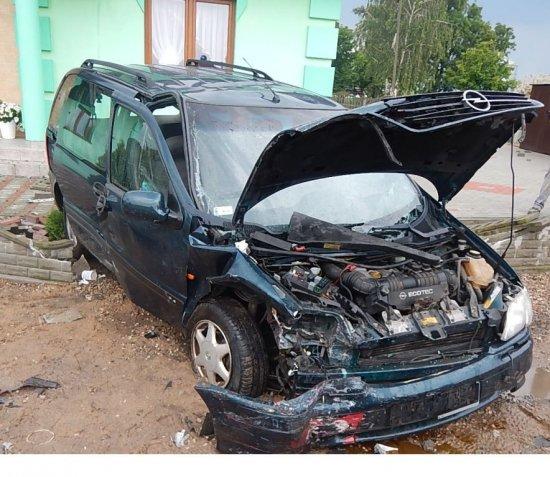 Wypadek w Głogowej